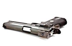 45 nowożytny automatyczny pistolecik nowożytny fotografia stock