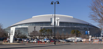 45 pucharów kowbojski stadium super Obraz Royalty Free