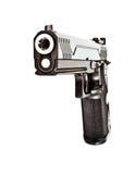 .45 revólver semi automático moderno Imagens de Stock Royalty Free