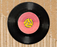 45 rpm record Royalty Free Stock Images