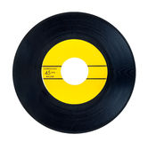 45 RPM vinyl record royalty free stock photo