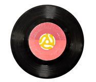 45 rpm Vinyl Record Stock Photos