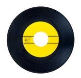 45 RPM winylowy rejestr zdjęcie royalty free