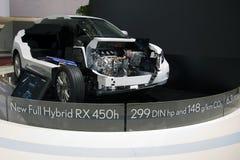 450h folował Geneva hybrydowego lexus motorshow rx Obrazy Stock