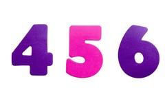 456 αριθμός Στοκ εικόνες με δικαίωμα ελεύθερης χρήσης