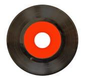 45rpm registrerad vinyl Royaltyfri Foto
