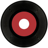 45rpm Vinyl record cutout Royalty Free Stock Photography