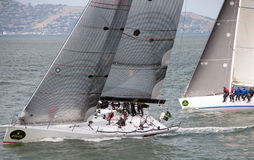 The 45th Rolex Big Boat Series, yacht racing. Stock Image
