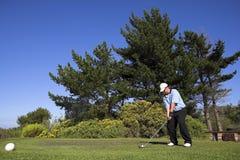 46高尔夫球 免版税库存照片