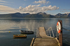 46 северная Норвегия Стоковое фото RF