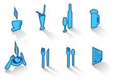 46 inställda symboler Arkivfoton