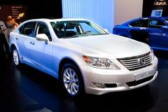 460 samochód l lexus ls biel Obrazy Stock