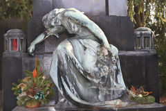 462 gammal tombstone vienna Arkivbild