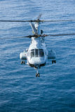 46e ch korpusów helikopteru żołnierz piechoty morskiej Fotografia Royalty Free