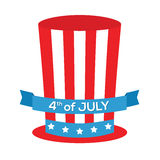 第4日独立7月 库存图片