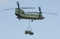 47 ch chinook helikopter Zdjęcie Royalty Free