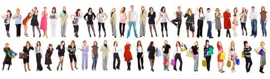47 povos separados Imagem de Stock Royalty Free