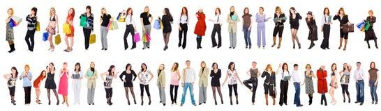 47 verschiedene Leute Lizenzfreie Stockfotografie