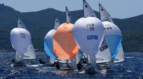 470 klasowy zawody międzynarodowe Zdjęcie Royalty Free