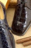 48双豪华鞋子 图库摄影