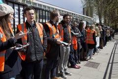 48 οι ωρ. όλες χτυπούν έξω για τους κατώτερους γιατρούς, στις 26 Απριλίου 2016 Στοκ εικόνα με δικαίωμα ελεύθερης χρήσης