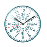 48 ours clock. Nice 3d image of 48 ours watch on white background vector illustration