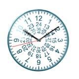 48 zegar nasze zdjęcie stock