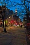 48th Zona leste da parte superior de Manhattan New York da rua Fotografia de Stock Royalty Free