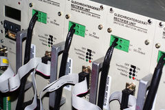 48v παροχή συνεχούς ηλεκτρ&i Στοκ φωτογραφίες με δικαίωμα ελεύθερης χρήσης