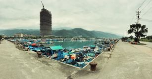 49/365 YiLan WuShi Harbour Royalty Free Stock Photo