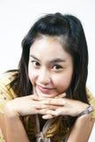 49 asiatiska flickabarn Fotografering för Bildbyråer