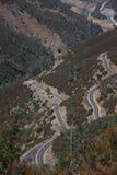 49 huvudvägtoppig bergskedja Royaltyfri Bild