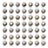 49 icone monocromatiche di Web royalty illustrazione gratis