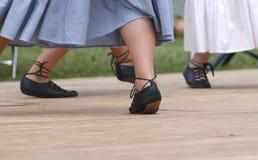 4926 χορεύοντας πόδια Στοκ Εικόνες