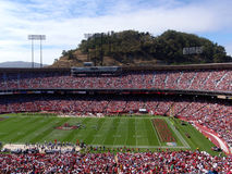 49er Game at Candlestick Stock Photos