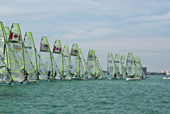 49ers at the start, Rolex Miami OCR Stock Photography
