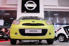 49th International Belgrade car show Stock Photo