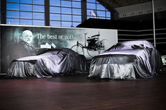 49th International Belgrade car show Stock Images