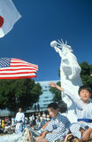 49th Nisei Week Parade in Little Tokyo Stock Photos