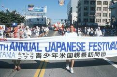 49th Parada da semana de Nisei em pouco Tokyo, Foto de Stock Royalty Free