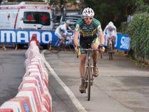 4de ronde van de Kop van de Wereld Cyclocross van 2011-2012 Stock Fotografie
