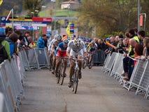 4de ronde van de Kop van de Wereld Cyclocross van 2011-2012 Stock Foto