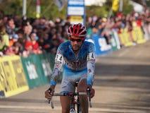 4de ronde van de Kop van de Wereld Cyclocross van 2011-2012 Stock Foto's