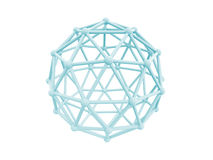 4g δίκτυο κλουβιών σφαιρών Στοκ φωτογραφία με δικαίωμα ελεύθερης χρήσης