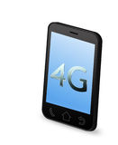 4G smart phone. Illustration of 4G smart phone Stock Images