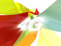 4G Technology. 4G Long Term Evolution Technology Royalty Free Stock Images