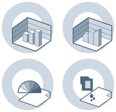 4i στοιχεία π σχεδίου διανυσματική απεικόνιση