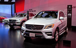 4matic 550 κλάση μ Mercedes μιλ. Στοκ εικόνες με δικαίωμα ελεύθερης χρήσης