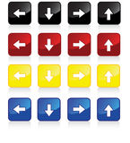 4pack arrows Royalty Free Stock Image