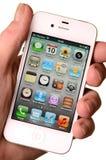 4s苹果iphone 图库摄影